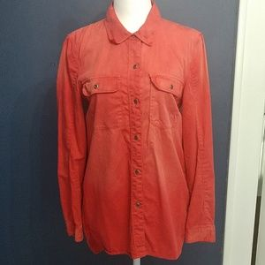 Madewell Red Chambray Shirt